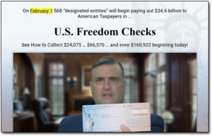 Freedom Checks Website Screenshot