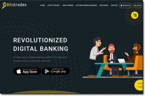 BitsTrades Website Screenshot