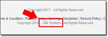 Copy My Email System AKA GIM System