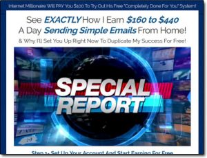 Copy My Email System Website Screenshot