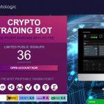 Cryptologic Trading Robot Website Screenshot