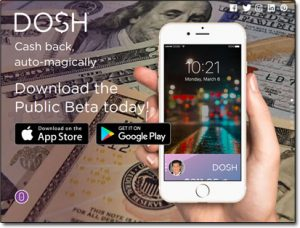 DOSH App Website Screenshot