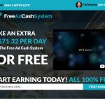 Free Ad Cash System Website Screenshot