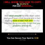 Just Share The Link Cash System Website Screenshot