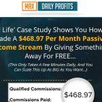 Max Daily Profits Website Screenshot