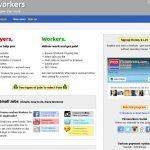 Picoworkers Website Screenshot