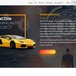 Pincoin Website Screenshot