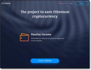 Stepium Website Screenshot