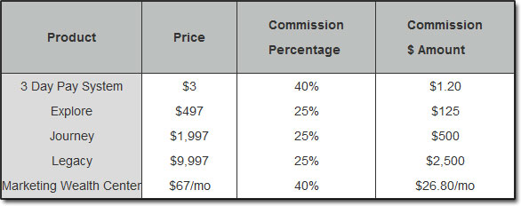 The Wealth Network Affiliate Compensation Plan