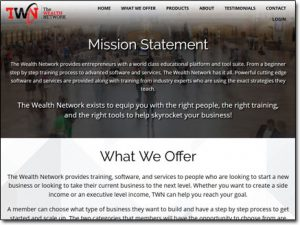 The Wealth Network Homepage