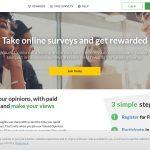 Valued Opinions Surveys Website Screenshot