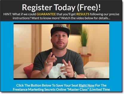 AWOL Academy Webinar Website Screenshot