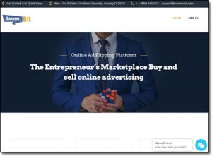 Banner Bit Website Screenshot