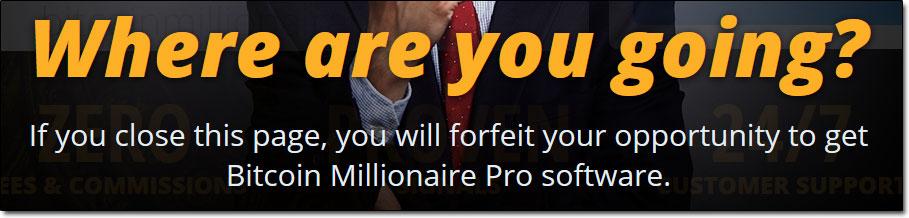 Bitcoin Millionaire Pro Fake Scarcity