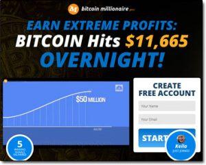 Bitcoin Millionaire Pro System Website Screenshot