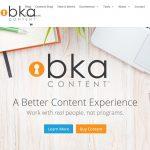 BKA Content Website Screenshot