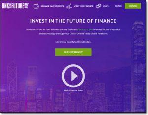 BnkToTheFuture Website Screenshot