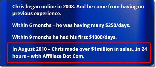 Chris Farrell Information