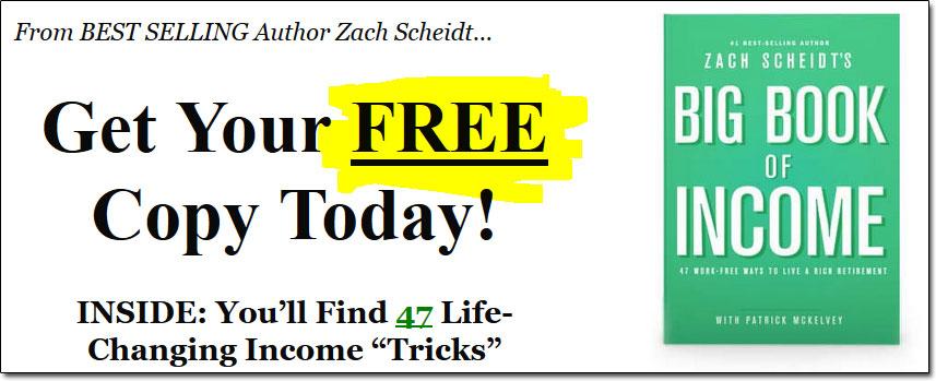 Agora Financial's Free Big Book of Income Book