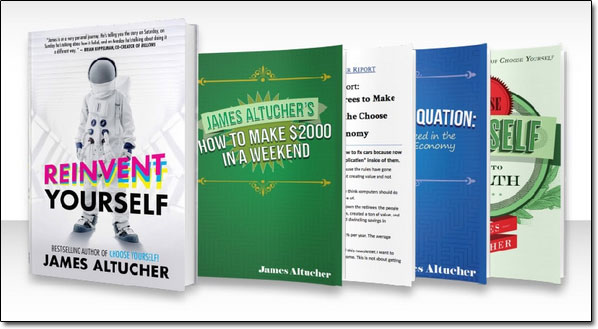 James Altucher Books