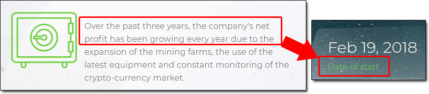 MineTech Farm Start Date
