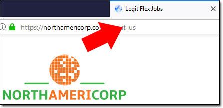 NorthAmeriCorp Legit Flex Jobs