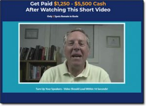 Online Cash Bonanza Website Screenshot