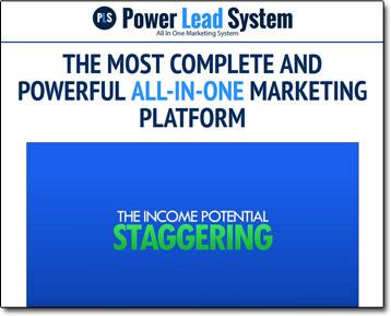 Power Lead System Website Screenshot