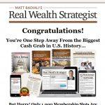 Real Wealth Strategist Website Screenshot