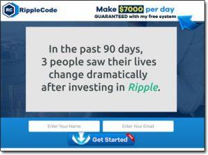 The Ripple Code System Website Screenshot