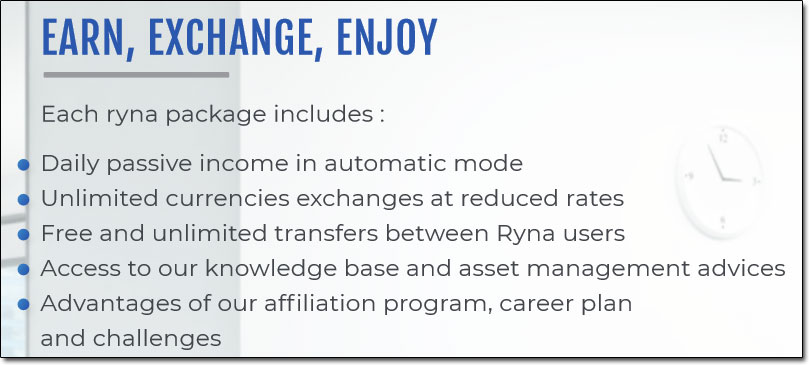 Ryna Holdings Packages