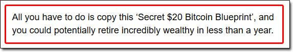 Secret Bitcoin Blueprint Income Claim