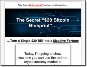 Is the secret 20 bitcoin blueprint a scam my review uncovers the the secret 20 bitcoin blueprint website screenshot malvernweather Images