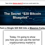 Secret Bitcoin Blueprint Website Screenshot