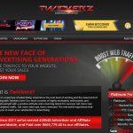 Twickerz Website Screenshot