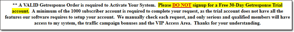 Insider Profit System GetResponse