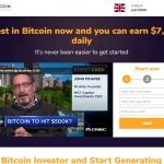 Bitcoin Investor Website Screenshot