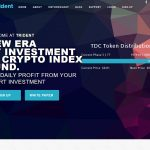 Trident Crypto Fund Website Screenshot