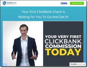 ClickBank University 2.0 Website Screenshot
