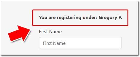 Copy Profit Success Global Registration Form