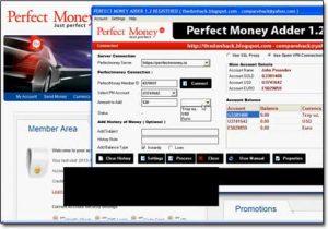 paypal money adder software website screenshot
