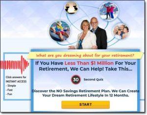 Ultimate Retirement Breakthrough Website Screenshot