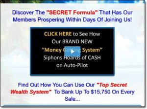 3D Wealth Machine Website Screenshot