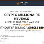 Coin Code Club Website Screenshot