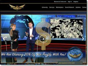 Elevated Legacy Website Screenshot