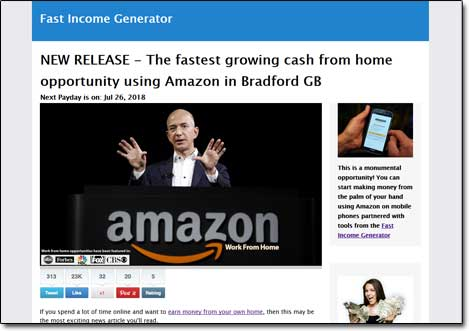 Fast Income Generator - Scam or Legit? My Honest Review Exposes This
