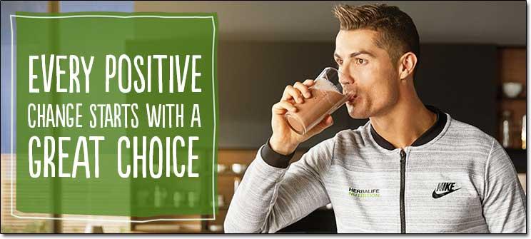 Herbalife Nutrition Ronaldo