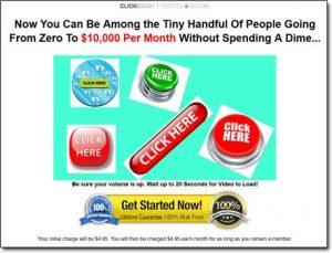 Income Quickies Website Screenshot