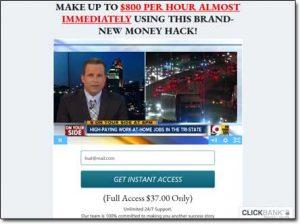 Instant Payday Tricks Website Screenshot