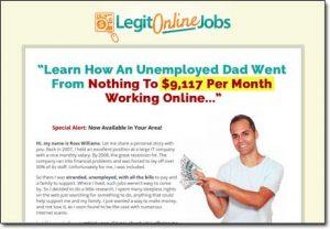 Legit Online Jobs Website Screenshot
